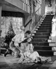 Cornel Wilde and Gene Tierney, Leave Her to Heaven, 1945
