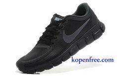 sports shoes d7751 1a6e6 Billig Schuhe Herren Nike Free 5.0 V4 (Farbe Vamp-grau,innen-schwarz,Logo-gelb Sohle-weiB)  Online Laden.   Billig Nike Free 5.0 V4   Pinterest