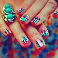 #boho #nail #art