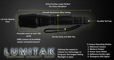 The Worlds Best Flashlight – Lumitak