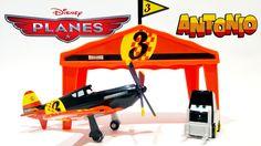 Disney Planes Antonio Pit Row Gift Toys Video ★ Juguetes de Aviones Disn...