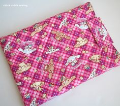 Cinnamoroll laptop sleeve for my girl by chick chick sewing