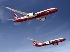 Boeing 777-8X & 777-9X ... composite folding wings!!  To arrive in 2020.