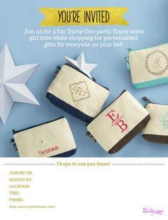 Holiday invite!! www.mythirtyone.com/kalbers
