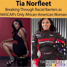CLICK THE IMAGE Tia Norfleet is the first African American female to receive a…