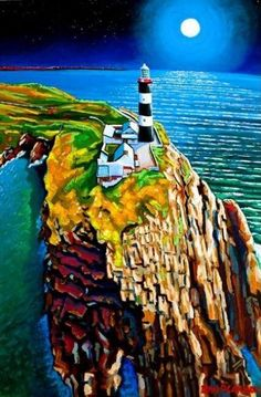 Fine Art Prints Framed Art by Eoin O Connor Artist Framed Art Prints, Fine Art Prints, Old Head, Shades Of Green, Ireland, Old Things, Landscape, Architecture, Drawings