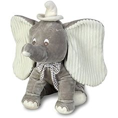 "Disney Dumbo Luxury Plush 16"" Elephant Animal Toy -- Visit the image link more details. (This is an affiliate link) #PlushFigures"