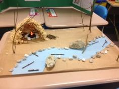 Laffin's Laughings: A Peek at My Week Native American Projects, Indian Project, Diorama Ideas, Indian Crafts, Native Americans, School Projects, Nativity, Kids, Art