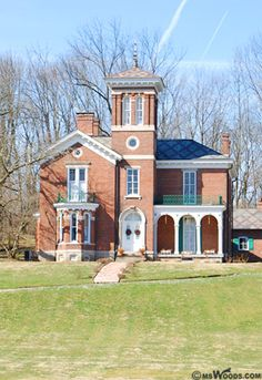 A historic house in Avon, Indiana.