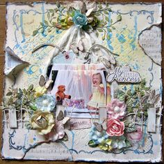 """""""My Little Princess"""" using the May Kit and all add ons from C'est Magnifique Kits. Design Team work."""