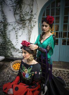 Sesión de moda flamenca para Feria de Abril 2016. Diseños Pilar Vera y Cristina García. J.M. Serrano