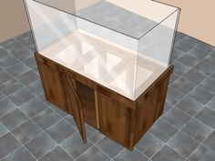 DIY - Aquarium stands raise your fish tank to a whole new level, both in height and beauty. Well-crafted, store-bought tanks can be very expensive, but you can learn how to build a homemade aquarium stand that is constructed just as well as one...