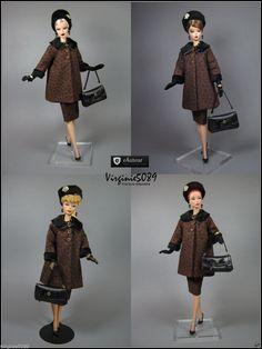 Tenue Outfit Accessoires Pour Barbie Silkstone Vintage Fashion Royalty 1120   eBay