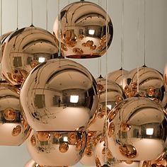 Mini Globe anheng, en lys, Minimalist Metal Glass Galvanisering – NOK kr. 397