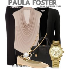 Inspired by guest start Paget Brewster as Paula Foster on Law & Order SVU.