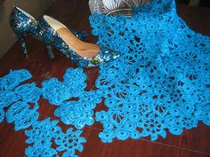 Dressing it up ~!~ Irish crochet. Ideas on LiveInternet - Russian Service Online diary