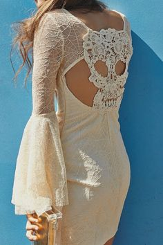 Skull lace dress