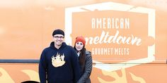 Gussied up with pesto, pulled pork, or figs, the humble grilled cheese sandwich garners crowds for American Meltdown, a Triangle-area food truck.