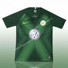 a942910b576 2018-19 Wolfsburg Home Green Thailand Soccer Jersey AAA-417 Football Shirts