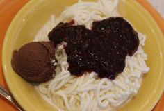 The Next Big Thing? Spaghetti Ice Cream at Dolce Gelateria #NYCSweets #NYCEateries