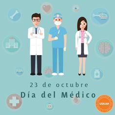 ¡Queremos felicitar a todos los médicos en su día! Especialmente a los estudiantes, egresados, académicos y empleados de nuestra #ComunidadUDLAP.  #DíaDelMédico