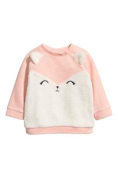 H&M Velour Sweatshirt