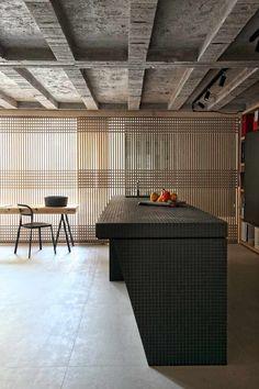 Inspiração cortina cozinha  ♂ Nature light masculine rusty ceiling kitchen design - Faliro Loft-17-1 Kind Design
