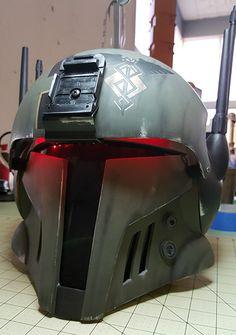 mandalorian cosplay helmet - Google Search