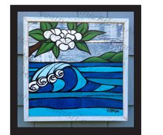The Surf Art of Heather Brown: New Heather Brown Original Art!