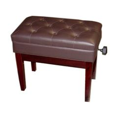 Adjustable Piano Bench Deluxe (Polished Mahogany) //adjustablepianobench.net  sc 1 st  Pinterest & 1230 best Piano Benches images on Pinterest | Piano bench Piano ...