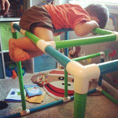 DIY play gym