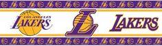 Los Angeles Lakers Wall-Border