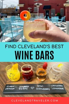 Here's your ultimate guide to the best wine bars in Cleveland, Ohio. Whether you're looking to sip local Ohio wines or wines from around the world, these Cleveland wine bars tick all the boxes! Cleveland Food, Cleveland Restaurants, Wine By The Glass, Different Wines, Strawberry Lemonade, Wine List, Wine Drinks, Wine Tasting, Berries