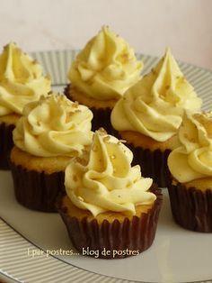 Mini-cupcakes de doble Vainilla