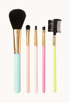 Favorite Things Cosmetic Brush Set | FOREVER21 - 1000087855