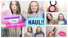 Sonia Kashuk VS. Flower Beauty HAUL!!! #haul #shopping #soniakashuk #flowerbeauty #makeupreview #review #makeup