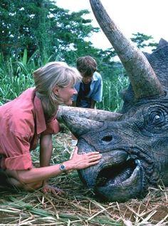 Jurassic Movies, Jurassic Park Series, Jurassic Park 1993, Jurassic World Dinosaurs, Jurassic Park World, Michael Crichton, Fantasy Movies, Sci Fi Fantasy, Dinosaure Herbivore