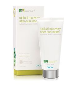 Environmental Repair Plus® Radical Recovery® After-Sun Lotion - Save the skin you're in with this ultra-moisturizing and deep-soothing lotion that uses organic Agave's natural moisture binding mechanisms for environmental defense and calming sunburn.