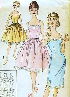 Simplicity 3429 Misses' Slips in Proportioned Sizes, Lingerie Sewing Pattern, Rockabilly Slip Vintage Simplicity,http://www.amazon.com/dp/B00CXZ8DQS/ref=cm_sw_r_pi_dp_f7Axtb1TN5Q15TTH