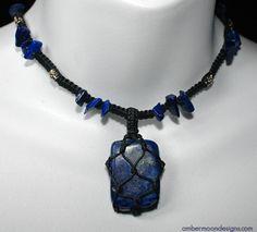 lapiz necklace