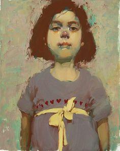 Milt Kobayashi - Daniela - Contemporary Artist - Figurative Painting