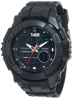 Armitron Sport Men's 20/4942BLK Chronograph Large Black Resin Strap Digital Watch - http://www.specialdaysgift.com/armitron-sport-mens-204942blk-chronograph-large-black-resin-strap-digital-watch/