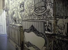 Wall illustrations by Charlotte Mann.