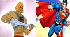 Compare He-man vs Superman