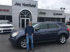 Joseph's new 2014 CHEVROLET EQUIOX! Congratulations and best wishes from Jay Hatfield CDJR and AMANDA TIDWELL.