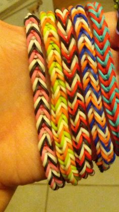 fishtail bracelets so cute can be custom made contact us on facebook at crafts by bear or email missbruschi@hotmail.com please write in subject line rainbow loom