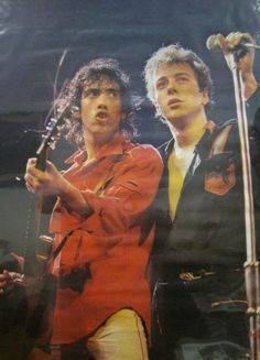 Mick Jones & Joe Strummer