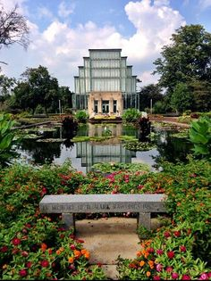 The Jewel Box in Forest Park. Stunning.