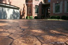 Our stone stamp patterns achieve the results homeowners are looking for. Stamped Concrete Driveway, Concrete Patio Designs, Concrete Deck, Concrete Stone, Concrete Driveways, Patio Under Decks, Outdoor Kitchen Design, Pool Landscaping, Porch Ideas