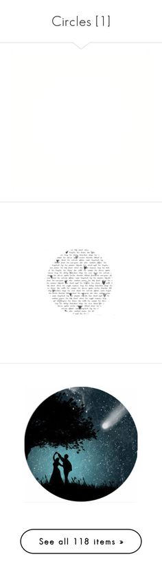 """Circles [1]"" by aryery06gemini ❤ liked on Polyvore featuring decoration, circles, effects, fillers, backgrounds, frames, circle, outlines, borders and text"